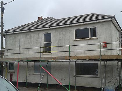 Rendering and Wall insulation service in Hampshire