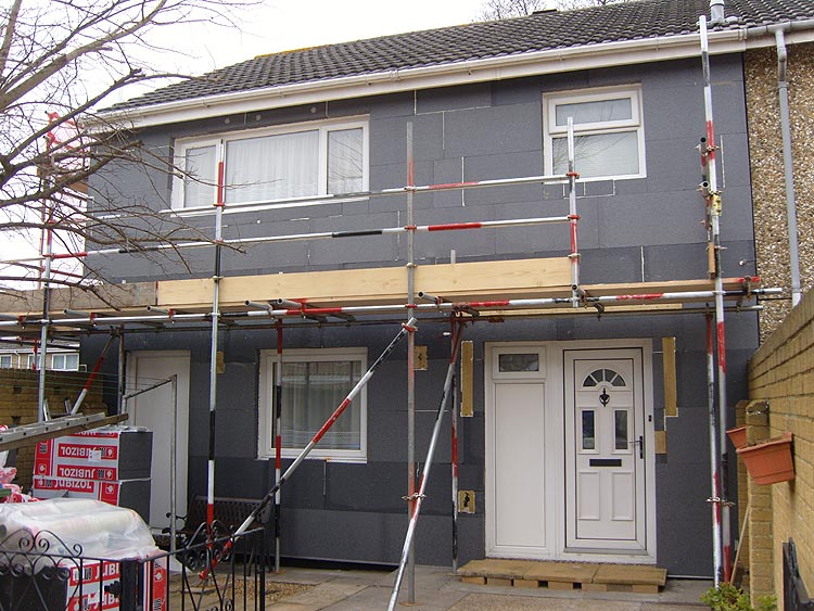 External insulation cladding