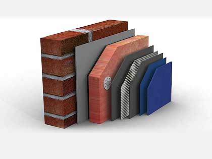 exterior wall insulation diagram
